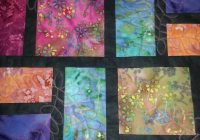stained glass quilt stained glass quilt batik quilts patchwork Cool Batik Fabric Quilt Patterns Inspirations