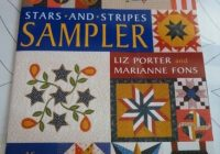 stars stripes sampler patchwork times judy laquidara Fons And Porter Patriotic Quilt Patterns Inspirations