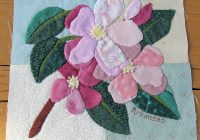 state flower applique quilt and an exciting opportunity to Modern Floral Applique Quilt Patterns Gallery