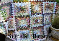 stitchin therapy tutorial design a watercolor quilt Stylish Watercolor Quilts