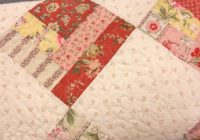 strawberry marmalade quilt jelly roll dream quilting cub Cozy French General Quilt Patterns Inspirations