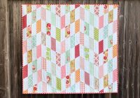 striped chevrons ba quilt tutorial chevron ba quilts Stylish Chevron Quilt Pattern Using Jelly Roll