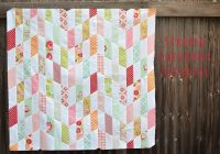 striped chevrons quilt top and tutorial quilts and Stylish Jelly Roll Chevron Quilt Pattern Gallery