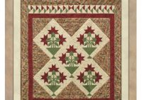 studio 180 design no y carolina lily 5 block quilt Elegant Carolina Lily Quilt Pattern Gallery