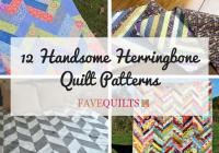 Stylish 12 handsome herringbone quilt patterns seams and scissors 11   Herringbone Quilt Pattern Gallery