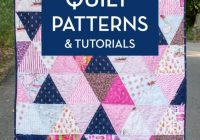 Stylish 45 easy beginner quilt patterns and free tutorials polka 11 Cool Scrap Quilt Patterns For Beginners