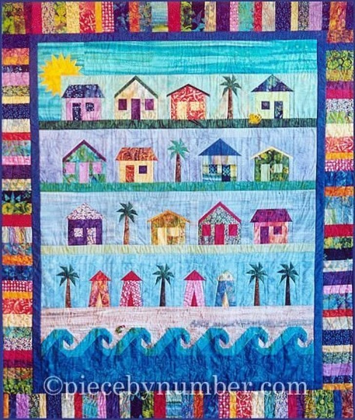 Permalink to Cool Beach Themed Quilt Patterns