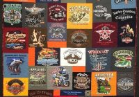 Stylish 6 must have features of a harley davidson t shirt quilt 10 Elegant Harley Davidson Quilt Patterns Inspirations