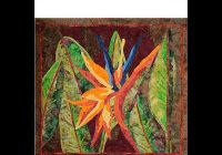 Stylish a bird in paradise quilt pattern Modern Bird Of Paradise Quilt Pattern Inspirations