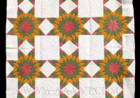 Stylish antique quilt mennonite star pattern circa 1900 quilts 11 Elegant Mennonite Quilt Patterns Inspirations