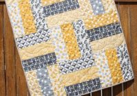 Stylish ba quilt pattern lap quilt pattern jumbo rails ba 10 Interesting Quilt Pattern For Beginners