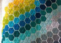 Stylish ba steppdecke moderne sechseck quilt kinderbett patchwork 11 Modern Modern Hexagon Quilt Patterns Inspirations
