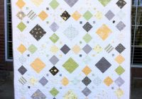 Stylish bee squared quilt pattern pdf modern quilt pattern simple easy beginner quilt fat quarter friendly ba throw twin queen king size 11 Beautiful Modern Quilt Patterns Inspirations
