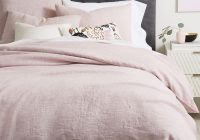 Stylish belgian flax linen fiber dyed duvet cover shams vintage rose 9 New Vintage Quilt Cover Gallery