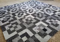 Stylish bento box quilt almost done piecing New Black And White Quilt Block Patterns Gallery