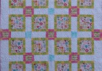 Stylish daisy chain quilt pattern 11   Daisy Chain Quilt Pattern