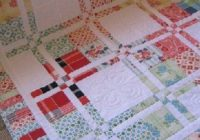 Stylish disappearing four patch makes the prettiest scrappy quilt 10 Modern Disappearing 4 Patch Quilt Patterns Gallery