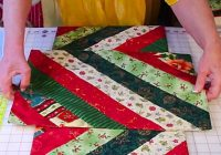 Stylish diy quilted christmas table runner and placemats diy ways 10 Cool Easy Quilted Placemats To Sew