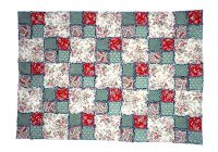 Stylish easy and free double four patch rag quilt pattern 11 Stylish Four Patch Quilt Ideas Gallery