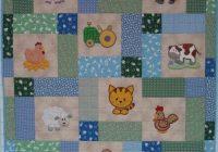 Stylish farm ba quilt patterns free ba farm quilt 10 Stylish Patchwork Cot Quilt Patterns Free Gallery