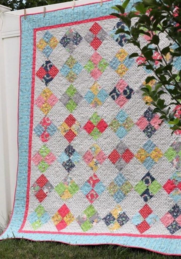 Permalink to Beautiful Four Patch Quilt Patterns