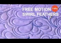Stylish fmq ideas free motion swirl feathers quilting tutorial with patsy thompson 9 Unique Feather Quilting Patterns Gallery