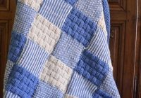 Stylish free knitting pattern for patchwork ba blanket modles New Knitted Quilt Block Patterns Inspirations