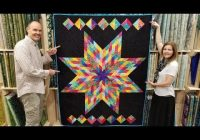 Stylish free pattern one jelly roll lone star quilt youtube 9 Beautiful Lone Star Quilt Pattern Free Gallery