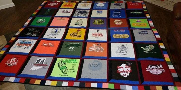 Permalink to 10 Interesting Patterns For T-Shirt Quilts Gallery