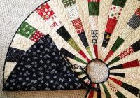 Stylish friday spotlight georgis most beautiful christmas tree 11 Elegant Tree Skirt Quilt Patterns Inspirations