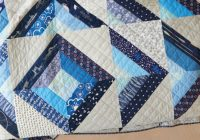 Stylish half square triangle quilts to try quilting daily Interesting Half Square Triangle Quilt Block Patterns Gallery