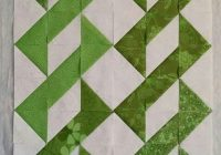 Stylish half square triangles you could put a a strip of sashing in 9 Interesting Free Half Square Triangle Quilt Patterns