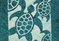 Stylish hawaiian quilt patterns pacific rim quilt company 10   Hawaiian Sea Turtle Quilt Patterns