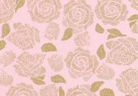 Stylish keepsake calico cotton fabric metallic rose pink gold Modern Pre Quilted Fabric Joann Inspirations