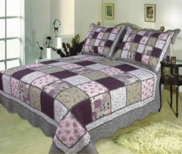 Permalink to Cozy King Size Patchwork Quilt Pattern
