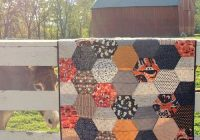 Stylish large hexagon quilt pattern and tutorial the polka dot 11 Cool Large Hexagon Quilt Pattern Gallery
