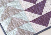 Stylish linen flying geese quilt ma tante quilting a texture 11 Modern Flying Geese Quilt Patterns