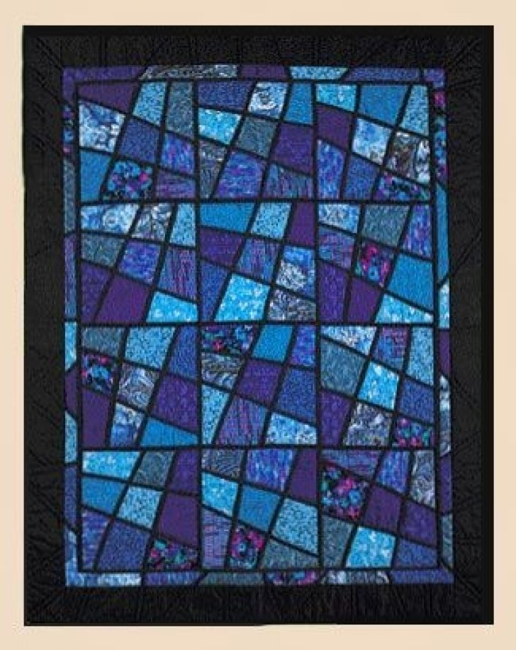 Permalink to 9 Stylish Magic Tiles Quilt Pattern