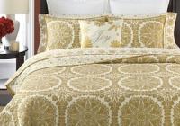 Stylish medallion patterns are chic on this martha stewart golden 9 Modern Martha Stewart Quilt Patterns Gallery