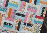 Stylish on the fence quilt pattern New Fat Quarter Quilt Patterns