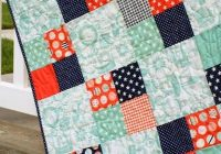 Stylish pin on modern quilt patterns 10 Modern Patchwork Square Quilt Patterns Inspirations