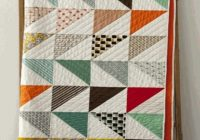 Stylish pin on quilts triangles Modern Vintage Modern Quilts Inspirations