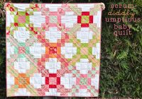 Stylish project jelly roll scrum diddly umptious ba quilt 10 Stylish Quilt Patterns Using Charm Packs And Jelly Rolls