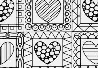 Stylish quilt patterns coloring pages portraits hearts quilt 11 New Quilt Patterns Coloring Pages Inspirations