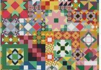 Stylish quilt sampler cross stitch pattern 9 Unique Cross Stitch Quilt Block Patterns Gallery