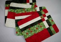 Stylish quilted oval placemat patterns free quilt pattern 11 Cozy Quilted Christmas Placemat Patterns Free