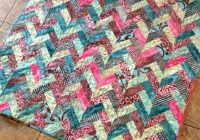 Stylish reannalily designs batik braid quilt tutorial Batik Jelly Roll Quilt Patterns