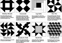 Stylish relentlessly fun deceptively educational printable 11 Cool Underground Railroad Quilt Pattern Gallery