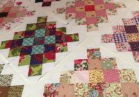 Stylish scrap great granny square block tutorial susies scraps 10 Cozy Granny Square Quilt Block Pattern Gallery