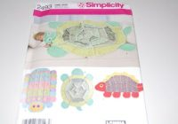 Stylish simplicity 2493 rag quilt turtle caterpillar dinosaur throw blank pattern 9 Cool Turtle Rag Quilt Pattern Inspirations